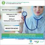 MInTFM Programme Webinar Event Photo